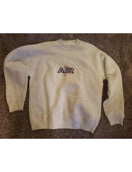 Vintage Nike Air Sweatshirt Grey | Large   No Tags   Rare by Nike