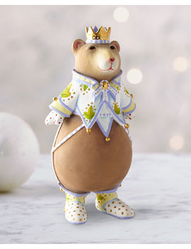Victoria Bear Ornament by Patience Brewster