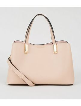 Pale Pink Mini Tote Bag by New Look