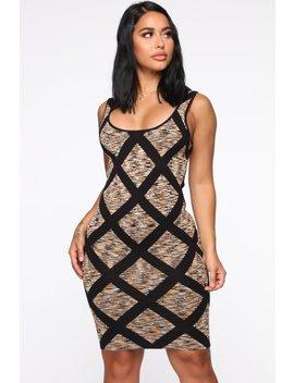 Cut Like A Diamond Mini Dress   Orange by Fashion Nova