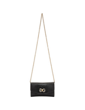 Black Iguana Dg Mini Bag by Dolce & Gabbana