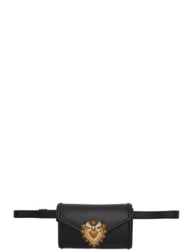 Black Devotion Belt Bag by Dolce & Gabbana
