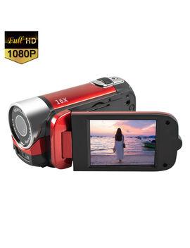 Mignova 1080 P Hd Camcorder Digital Video Camera 16x Zoom Digital Video Camera Recorder(Red) by Mignova