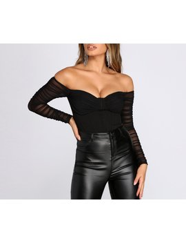Ruched Moment Cropped Bustier by Windsor