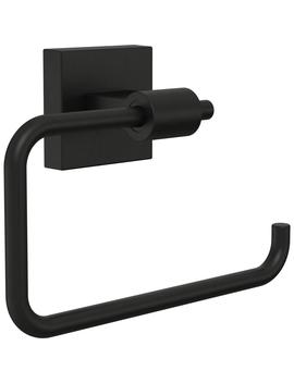 Maxted Toilet Paper Holder In Matte Black by Franklin Brass