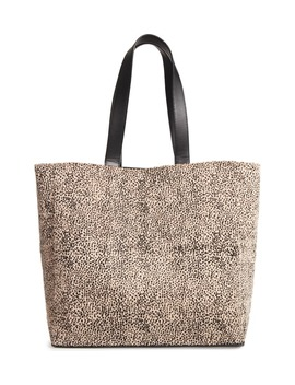 Carry On Faux Calf Hair Tote by Amuse Society