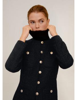 Tweed Katoenen Jasje by Mango
