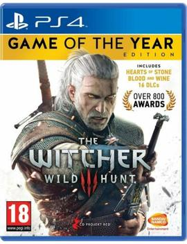 The Witcher 3 Iii Wild Hunt Goty Game Of The Year Edition Ps4 Play Station New by Warner Bros.