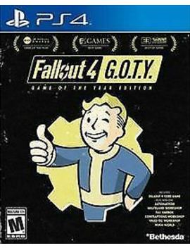 Fallout 4   Game Of The Year Ps4   New Free Usa Shipping by Bethesda