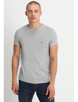New Stretch Tee C Neck   T Shirt Basic by Tommy Hilfiger