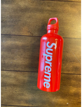 Supreme X Sigg .6 L Water Bottle   Never Used   No Box by Supreme  ×