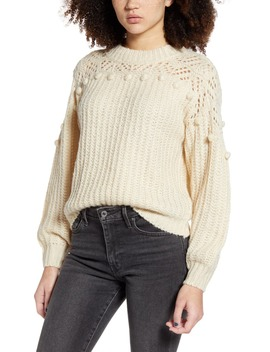 Pompom Sweater by All In Favor