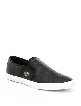 Men's Gazon Slip On Sneakers by Lacoste