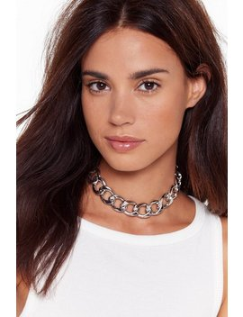 Chain Ge The Rules Chunky Chain Necklace by Nasty Gal