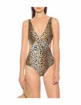 Delmar Leopard Printed Swimsuit by Melissa Odabash
