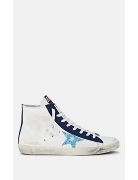 Women's Francy Leather Sneakers by Golden Goose