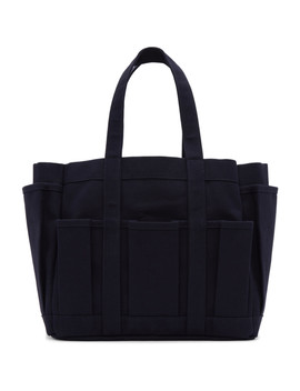 Navy Canvas Tool Bag by Comme Des GarÇons Shirt