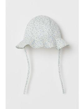 Pamuklu Güneş Şapkası by H&M