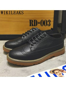 Italian Men Casual Shoes Brogue Shoes Men 2019 Leather Shoes Men Luxury Brand Basket Homme Chaussure Chaussures Homme Ayakkabi by Ali Express.Com