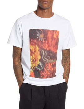 Night Floral Graphic T Shirt by Saturdays Nyc