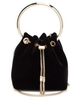 Bon Bon Velvet Clutch Bag by Jimmy Choo