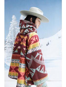 Lindsey Thornburg + Pendleton Trench Cloak   Point Reyes by Garmentory