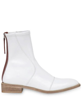 F Frame Ankle Boots by Fendi