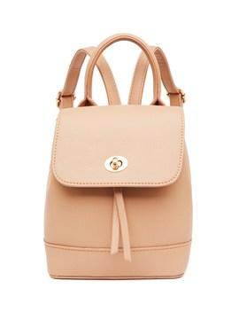 La Skylar Backpack Mini Tan by The Way