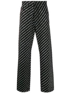 D Macs Straight Leg Jeans by Diesel