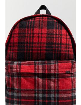 Uo Brushed Plaid Backpack by Urban Outfitters
