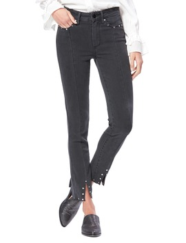Transcend Vintage Hoxton High Waist Ankle Skinny Jeans by Paige