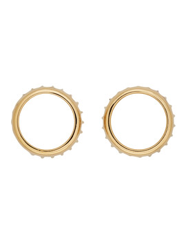 Gold Alex Earrings by A.P.C.