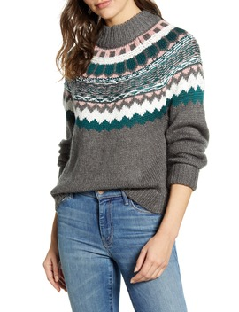 Chunky Jacquard Sweater by Caslon®