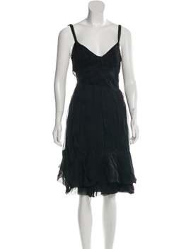Silk Knee Length Dress W/ Tags by Prada