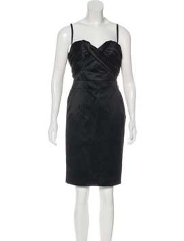 Satin Mini Dress by Christian Dior
