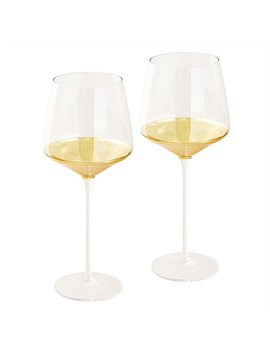 Estelle Crystal Wine Glass Set Of 2 by Cristina Re
