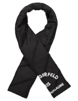 Guillaume Puffer Scarf   Sjaal by Karl Lagerfeld