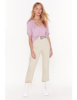 Jean Taille Haute Mom De La Situation by Nasty Gal