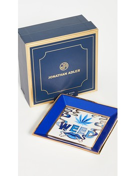 Druggist Weed Square Tray by Jonathan Adler