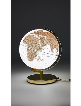 Globe Light With Brass Stand by East Dane Gifts