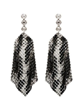 Draped Crystal Embellished Earrings by Isabel Marant