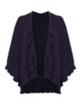Ruffle Edge Cape by Tu