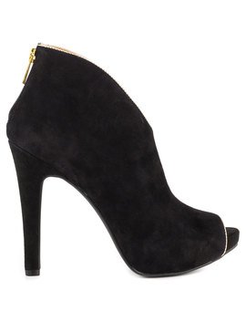 Abbear   Black Suede by Jessica Simpson