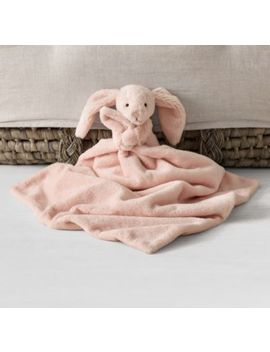 Jellycat® Plush Security Blanket    Petal Bashful Bunny by Restoration Hardware Baby And Child