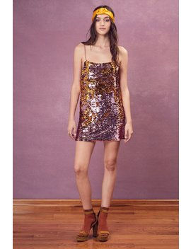 Sparklers Tank Dress by For Love & Lemons
