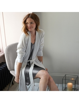 Cashmere Short Robe by The White Company