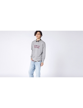 Come As You Are Embroidered Crew by Wildfang