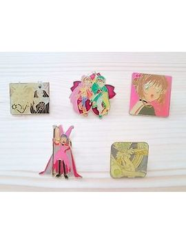 rare-clamp-cardcaptor-sakura-5set-pin-badge-anime-japan_577 by ebay-seller