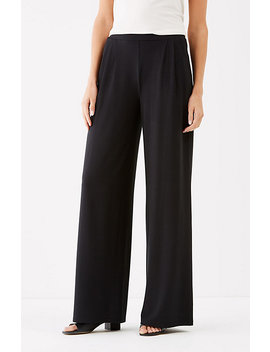 Wearever Pleated Wide Leg Pants by J.Jill