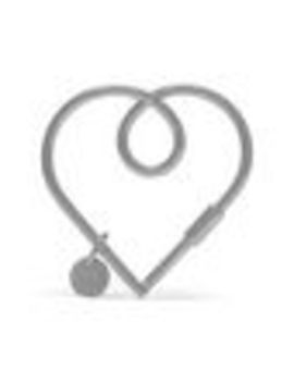 Large Looped Heart Keyring by Mulberry
